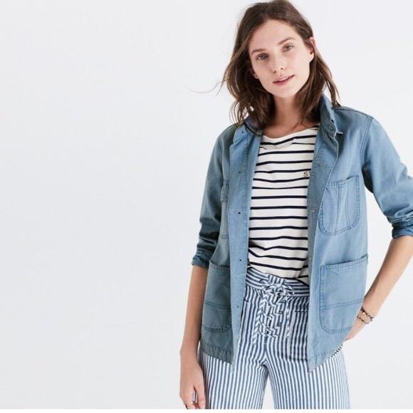 Madewell Jackets & Blazers - Madewell vintage French workwear chore jacket M